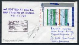 1979 Tristan Da Cunha Ship Cover - Tristan Da Cunha