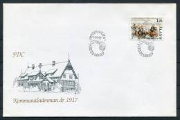 1987 Aland Kommunalstamman FDC - Aland