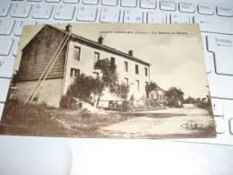 Carte  Postale  St Leonard  Fraize    Maire Ecole  1927  écrite Circulée - Fraize