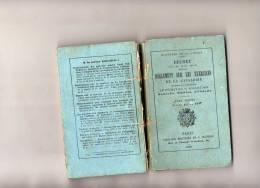 MILITARIA WW1 REGLEMENT SUR LES EXERCICES DE LA CAVALERIE EQUITATION CHEVAL TOME 2 EDIT MINISTERE DE LA GUERRE 1895 - Francés