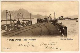 CABO VERDE SAO VICENTE Caes Da Alfandega - Cap Verde