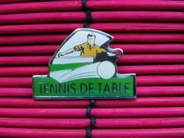 1  Pin´s    TENNIS  DE  TABLE - Table Tennis