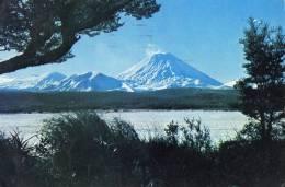 Mt. Ngauruhoe, Tongaririo National Park,, New Zealand - Posted To England 1978 See 2nd Scan - New Zealand