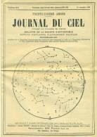 Journal Du Ciel, Neuf Avec Sa Bande D´envoi Oblitéré 19 Octobre 1895 - Astronomie
