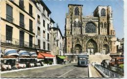 CPSM 38 VIENNE PLACE ET CATHEDRALE SAINT MAURICE - Vienne