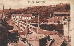Aude- Espéraza -La Passerelle Reliant La Place De La République à La Cité Sarraut. - France