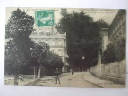 70  -  AL1 - LUXEUIL LES BAINS - BOULEVARD RICHET - GRANDS HOTELS ET HOTEL METROPOLE - Luxeuil Les Bains