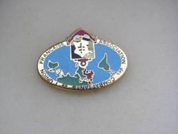 1  Pin´s   ASSOCIATION Des COMBATTANTS De L'UNION FRANÇAISE - Associations