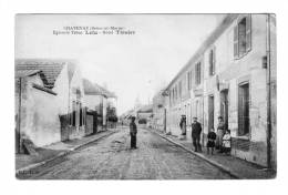 77 -Chatenay -Epicerie Tabac LELU -Hotel TISSIER - Autres Communes