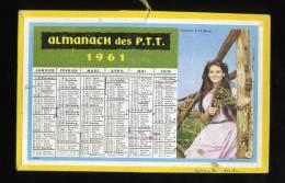 ALMANACH DES P.T.T. DE 1961 - Petit Format : 1961-70