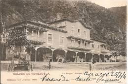 Cpa  Venezuela Saludo De La Guayra , Aduana En 1904 - Venezuela