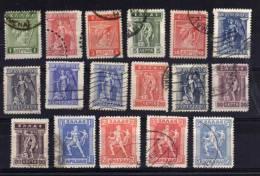 Greece - 1913/23 - Definitives (Part Set) - Used - Usati