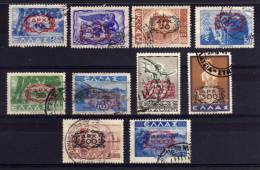 Greece - 1946/47 - Surcharges (Part Set) - Used - Usati