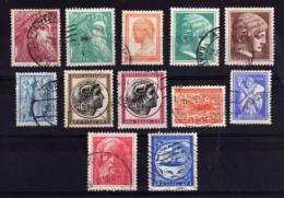 Greece - 1955/60 - Definitives (Part Set) - Used - Usati