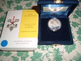 VATICANO 500 Lire AG 1997 Giornata Mondiale Gioventù FS PROOF Confezione Originale Zecca - Vatican