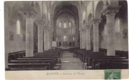 MATOUR / INTERIEUR DE L'EGLISE - France