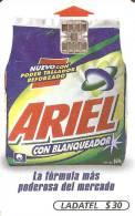 TARJETA DE MEXICO DE LADATEL DE ARIEL $30 - Publicidad