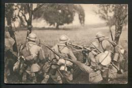 BELLE C.P.A -  Mitrailleuse En Batterie.- Oblitération: ARECHES - SAVOIE - 19.7.1939 - War 1939-45