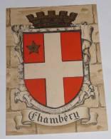 Blason Barré Et Dayez :CHAMBERY. - Chambery