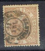 Sello 50 Milesimas Isabel II 1867, Fechador COCENTAINA (Alicante) Num 96 º - 1850-68 Kingdom: Isabella II