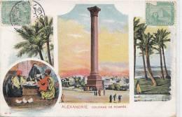 Egypte - Alexandrie - Précurseur - Philatélie  Egypt - Colonne Types - Egypt