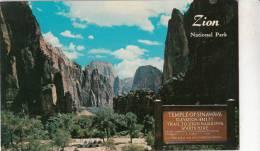 BR30832 Zion National Park Utah   2 Scans - Zion