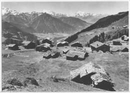 1172 - AK Bettmeralp 1947 Wallis, Fletschhorn, Mischabel, Weisshorn - VS Valais