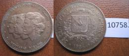 Republica Dominicana 25 Centimos 1986 - Otros – América