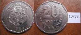 Costa Rica 1985 20 Colones - Monedas