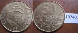 Costa Rica 1997 50 Colones - Monedas