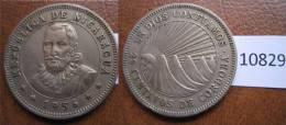 Nicaragua 25 Centimos 1956 - Autres – Amérique