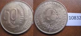 Uruguay 50 Pesos 1970 - Monedas