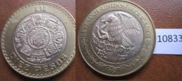 Mexico 2004 10 Pesos , Mejico Bimetalica - Monedas