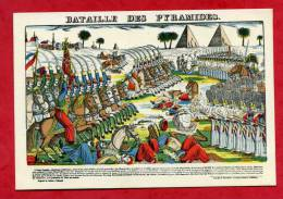 Bataille Des Pyramides  Imagerie Pellerin D´EPINAL - Epinal