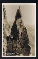 RB 895 - Real Photo Postcard - Climbing The Needle - Great Gable Cumbria Lake District - Sport Theme - Climbing