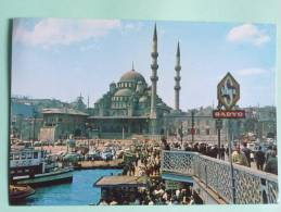 ISTANBUL - Le Pont De GALATA Et La Nouvelle Mosquée. - Turquie