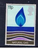 GB Großbritannien 1978 Mi 758 Mnh Erdgas - Ungebraucht