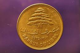 Lebanon - 25 Piastres  - 1972 - Lebanon
