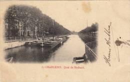 Charleroi - Quai Du Brabant, Péniches, 1901 - Charleroi