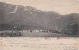 --vintage-postcard-osterr Eich-karnten-gruss Aus Miklautzhof-1899 - Non Classés