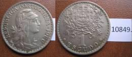 Portugal 1 Escudo 1966 - Monedas