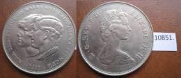 Inglaterra 1 Corona 1981 - Monedas