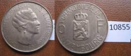 Luxemburgo 5  Francos 1962 - Monedas