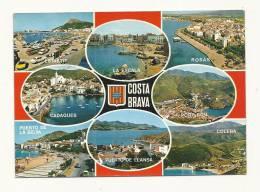 Cp, Espagne, Costa Brava, Multi-Vues, Voyagée - Sin Clasificación
