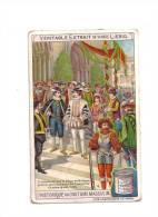 CHROMO  Véritable  Extrait   De Viande  LIEBIG  -  L'  Historique  Du  COSTUME  MASCULIN  - - Cromos