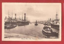 Q0939 Republica Argentina Buenos Aires, Dique 3, Bateaux, Ships.Circulé En 1923 Vers Luzern Suiza - Argentinië