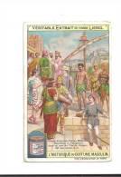 CHROMO  Véritable  Extrait   De Viande  LIEBIG  -  L´  Historique  Du  COSTUME  MASCULIN  - Grecs, Assyriens, Perses ... - Autres