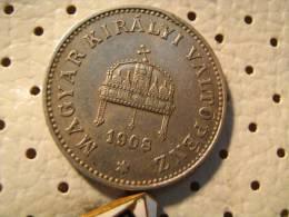 HUNGARY 20 Filler 1908 - Hungary