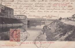 Lot 2 Cpa-italia-emilia Romagna-ferrara-ponte Sul Canale Di Burana-passegio - Ferrara