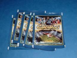 5 Bustine Calciatori 2009-10 Con Figurine Sticker Panini Lott 1 - Italienische Ausgabe